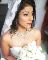 Bridal Makeup special 90$ with lashes !!( Home Service )