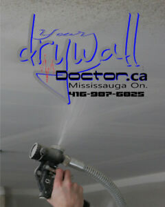 POPCORN CEILING & DRYWALL REPAIRS SERVICE STARTING FROM $150