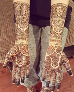 Bridal Henna in Brampton and Mississauga