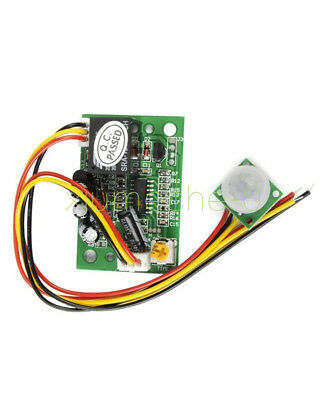 12v Pir Ir Pyroelectric Infrared Module Adjustable Relay Output Sensor Top