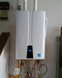 On Demand Tankless Hot Water Installations