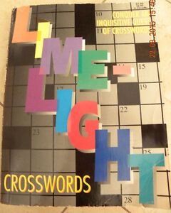 LIKE NEW Crosswords Puzzle Book