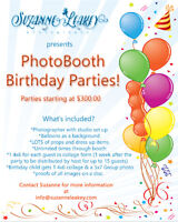 PhotoBooth Birthday Parties!!!