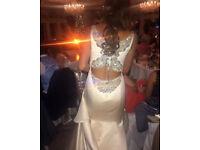 **STUNNING Badgley Mischka Shearer Designer Wedding Dress
