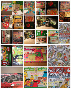 Various Collectable Board Games