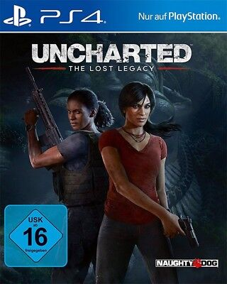 Ps4   Sony Playstation 4 Game   Uncharted  The Lost Legacy Ger New   Boxed