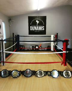 Kickboxing, boxing and fitness training