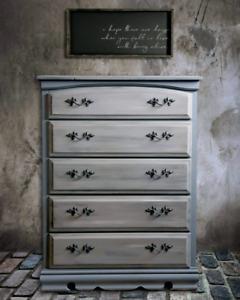 Upcycled Tallboy Dresser