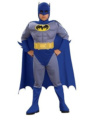 Batman The Brave and The Bold Child & Toddler Costume HALLOWEEN Superhero - Batman Costumes Boys