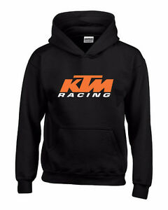 ★ KTM Racing Hoodie ★ SX-F XC EXC RC Super Duke RC8 R F T GT SXF