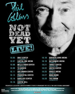 Phil Collins 16 octobre 2018