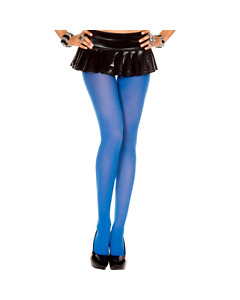 Opaque Royal Blue Tights