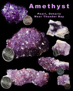 Amethyst, Minerals and Rocks