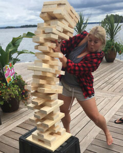 GIANT JENGA (2/4 inch) || 500+ SOLD!