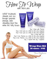 Wrap tose inches off with ActiLabs wraps!!