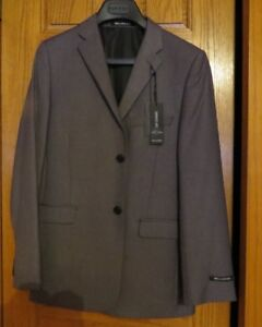 Boy's Brand New Bellissimo Suit. Medium Slate Grey.