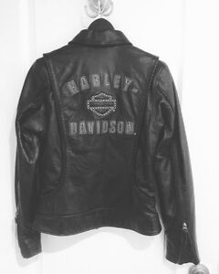 Brand new Leather Harley Davidson women's riding jacket