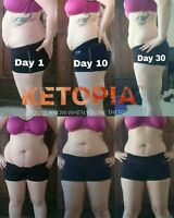 10lbs in 10 days!! Ketopia Weight Loss Program