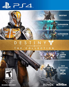 looking for destiny collection sealed ps4