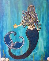 Teen Mermaid Painting  (Ages 11+)