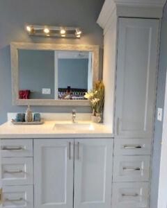 Customized Bathroom Vanities (Your space, your measurements!)