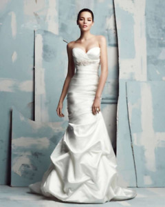 Paloma Blanca Wedding Dress (model 4111)