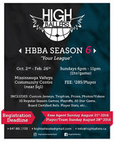 Looking for basketball Players for a league in Mississauga
