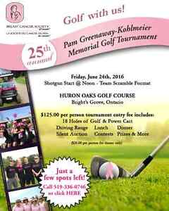 25th Annual Pam Greenaway-Kohlmeier Memorial Golf Tournament