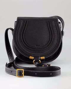 Authentic chloe marcy small black cross body