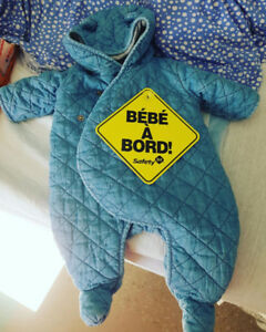 Baby Gap fall suit - 0-3 months - 20$