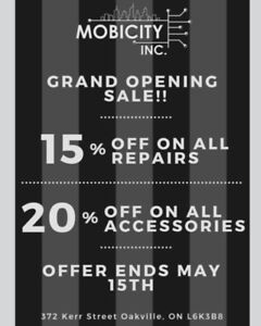 Phones, Tablets, Computers, Repairs & Accessories MOBICITY INC.