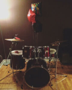 Yamaha Young Drummers Series Drum Kit - Garnet Red