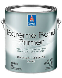 SW Extreme Bond int/ext primer and XWhite satin int paint