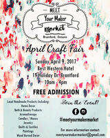 Meet Your Maker Market - April Craft Fair