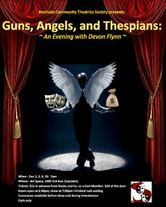 Guns, Angels, and Thespians: An Evening With Devon Flynn Prince George British Columbia image 1