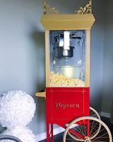 Beautiful Vintage Popcorn Machine For Rent