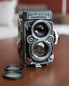 Rolleiflex 2.8F Twin Lens Reflex Medium Format Film Camera