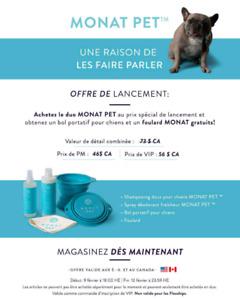 Shampoing et déodorant pour chien