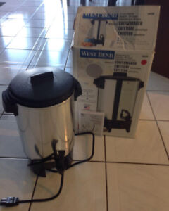 West Bend Automatic 30 Cup Coffee Machine
