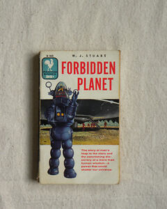 1956 Edition of Forbidden Planet by W. J. Stuart
