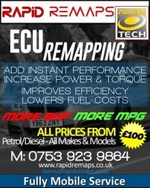 remaping custom tuning/egr/dpf delete & diagnostics all obd remaps £120
