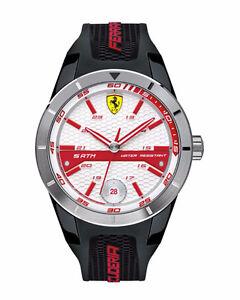 Ferrari Men's 0830250 REDREV T Analog Display Japanese Quartz