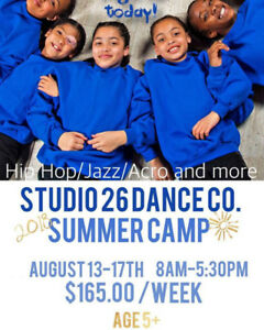 Summer Dance Camp at Studio 26 Dance Co.