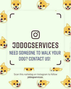 Dog Walking Services Offered