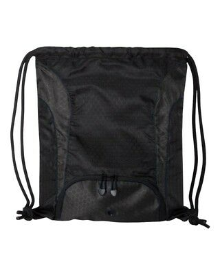Liberty Bags Santa Cruz Drawstring Pack W/Super DUROcord, Black 8890 -NEW 14