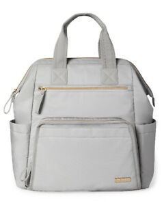 Skip hop mainframe wide diaper bag