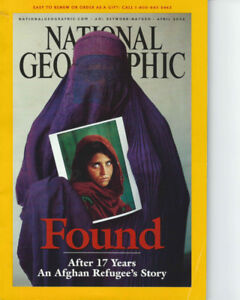 National Geographic April 2002