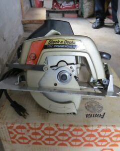 Brand New Black&Decker 7 1/4 inch Commercial Saw with saw blade.