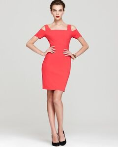 Beautiful Coral Pink BCBG Cocktail Dress-Never Worn
