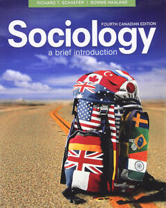 Sociology a Brief introduction - fourth canadian edition